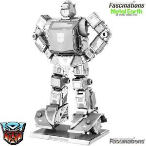 Metal Earth Transformers Bumblebee 3D Laser Cut DIY Model Building Kit Puzzle