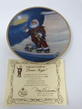 Duncan Royale The Nast Santa Portraits of Santa Plate Full Size Plate New in Box