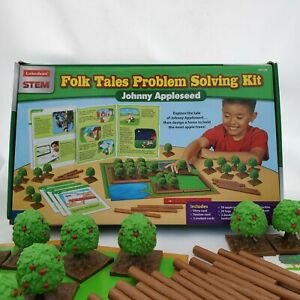 STEM Hands-On Folk Tales Problem Solving Kit JOHNNY APPLESEED by Lakeshore