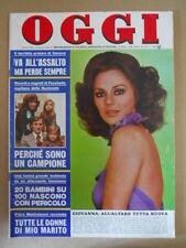 OGGI n°8 1974 Giovanna Ralli BrunO Arcari Facchetti   [G803]