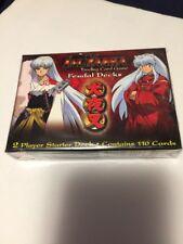 INUYASHA FEUDAL DECKS 2 PLAYER STARTER DECK TRADING CARD GAME NEW SEALED