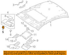 Infiniti NISSAN OEM 14-15 Q50 Interior-Roof-Sunvisor Sunshade Holder 964094GA0A