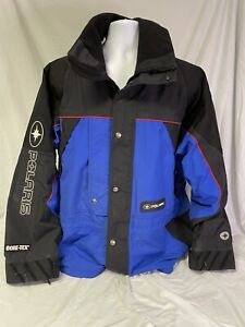 XL Polaris Gore Tex Waterproof Snowmobile Jacket with liner Blue