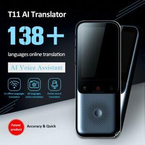 Smart Voice Translator Portable Two-Way Real Time 138+Multi-Language Translation