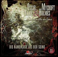 OSCAR WILDE & MYCROFT HOLMES-FOLGE 11 - DIE NAMENLOSE AUS DER SEINE   CD NEU