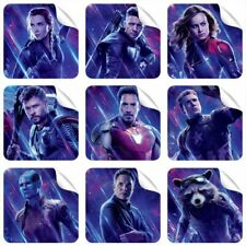 Avengers 9 Stickers + 3 Stickers FREE GIFT NEW Thor for Laptop Tablet Pad