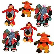"""Hugglehounds - Chubby Buddies, Hippo, Penguin Small 7"""" tall by 6"""" wide"""