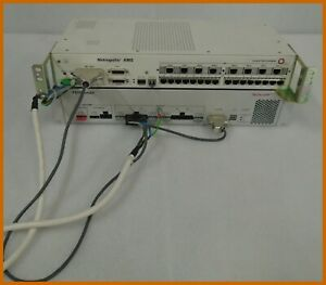 SCHROFF PS150 SMART POWER SYSTEM with LUCENT AMS-E1-16 MULTIPLEXER.