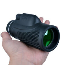Monocular 40x60 Optical lens Green Film Telescope Outdoor Hunting Spotting Scope