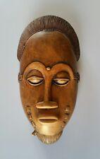 Art Tribal Primitif Africain Masque Éthnique Fétiche Baoulé ?