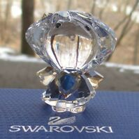 SWAROVSKI Crystal Angel with Golden Heart (#5135868) Figurine Mint & New in Box
