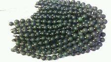 1 Strand Afghan Natural Antique Round Jade Spacer Loose Beads Jewelry Making 17""