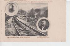 AK Zahnstangen-Einfahrt hinter Rübeland, ca. 1900/10