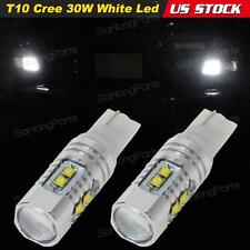 2x T10 921 Pure White Backup Reverse Lamps Bulbs Genunine Cree XBD Chip Led
