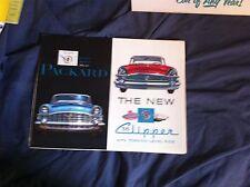 1956 Packard 400 Patrician Carribean Clipper Colore Brochure Prospetto