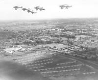 Hawker Hinds Of 139 Squadron Raf Display Hendon 1937 OLD AVIATION PHOTO