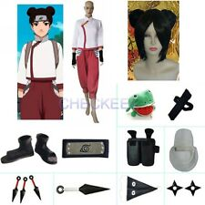 Naruto Shippuden Tenten Halloween Cosplay Costume 2 Naruto set with wig