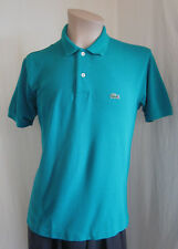 LACOSTE Mens Classic Fit Green Alligator 100% Cotton Polo Shirt Size 4 US M