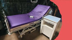 Stiegelmeyer Nachttisch Nati Vauth Sagel elektrische Pflegebett Krankenhausbett