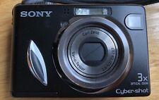 Sony DSC-W7 7.2 Mega Pixel 3X Zoom With Box - USED