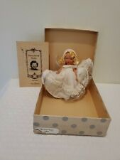 1940's Nancy Ann Storybook Doll Snow Queen w/ box, pamphlet, & wrist tag #172