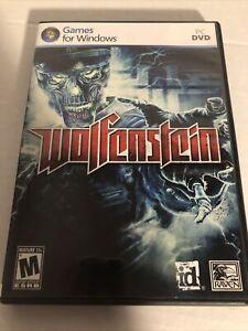 Wolfenstein - PC Games for Windows w/ Instructions