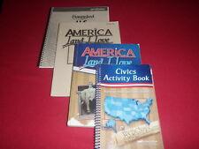 Abeka History 8 Civics Activity America Land I love Student Textbook Answer key