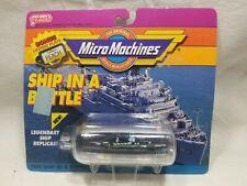 Micro Machines Galoob Kitty Hawk Ship in Bottle (D9)