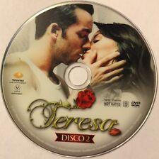 TERESA Telenovelas Populares DVD Disco 2 No Case No Art