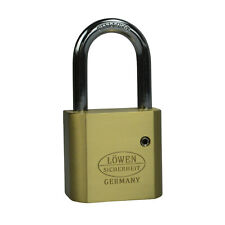 1x Padlock With Shackle Suitable For 30/10 half Cylinder