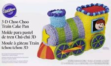 wilton 3D train cake tin