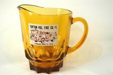 Vintage Glass Water Pitcher Topton Vol. Fire Co #1 Parade June 17 1972 (43)