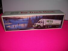 1987 Hess Toy Truck Bank with lights
