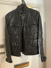 Polo Ralph Lauren Southbury Leather Biker Jacket M