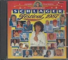V/A - SCHLAGER FESTIVAL 1987 CD Album 19TR (ARCADE) Rex Gildo Nicole Wind Mieke
