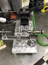 Clock Makers Lathe With Motor And Custom Aluminum Stand