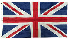 3x5 Ft United Kingdom Flag SEWN NYLON British Uk Union Jack Britain England Flag