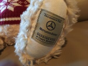 "Mercedes Benz Exclusive Herrington 2004 Alpine Teddy Bear Jointed 16"" Christmas"