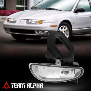 Fits 2000-2002 Saturn SL/SW[LH Driver Side]Clear OE Replacement Bumper Fog Light