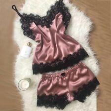 Lenceria Para Mujer Pijama Babydoll Ropa de Dormir Interior Bata De Seda Sexy