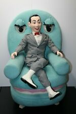"Rare! 1989 JcPenney 40"" Pee-wee Herman and 38"" Chairry Set Numbered out of 2000"