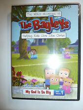 The World According to the Bagleys DVD Christian kids cartoon show family NEW!