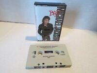 Michael Jackson- BAD (1987), Cassette Tape