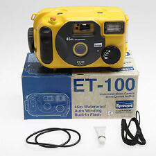 EPOQUE UNDERWATER 35MM CAMERA, ET-100 SPECIAL EDITION, NEW WITH STROBE KIT SALE