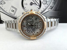 Citizen FB1226-57D Regent Chronograph Eco Drive Diamond Rose Gold Women's Watch