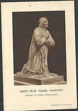 Estampa antigua de San Jean Marie andachtsbild santino holy card santini