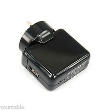 12W USB AC Adapter Wall Charger BLACK 4 iPad Pro Air mini iPhone X 8 7 6s 6 Plus