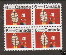 Canada USC 525i MNH. 1970 6c Christmas, Center Block VF