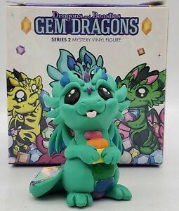"Dragons & Beasties Gem Dragons Series 2 ""DAZZLE"" w/ Box Vinyl Figurine"