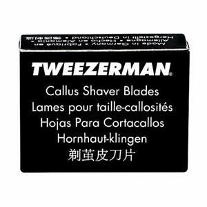 Tweezerman Replacement Callus Shaver Blades 20 Count